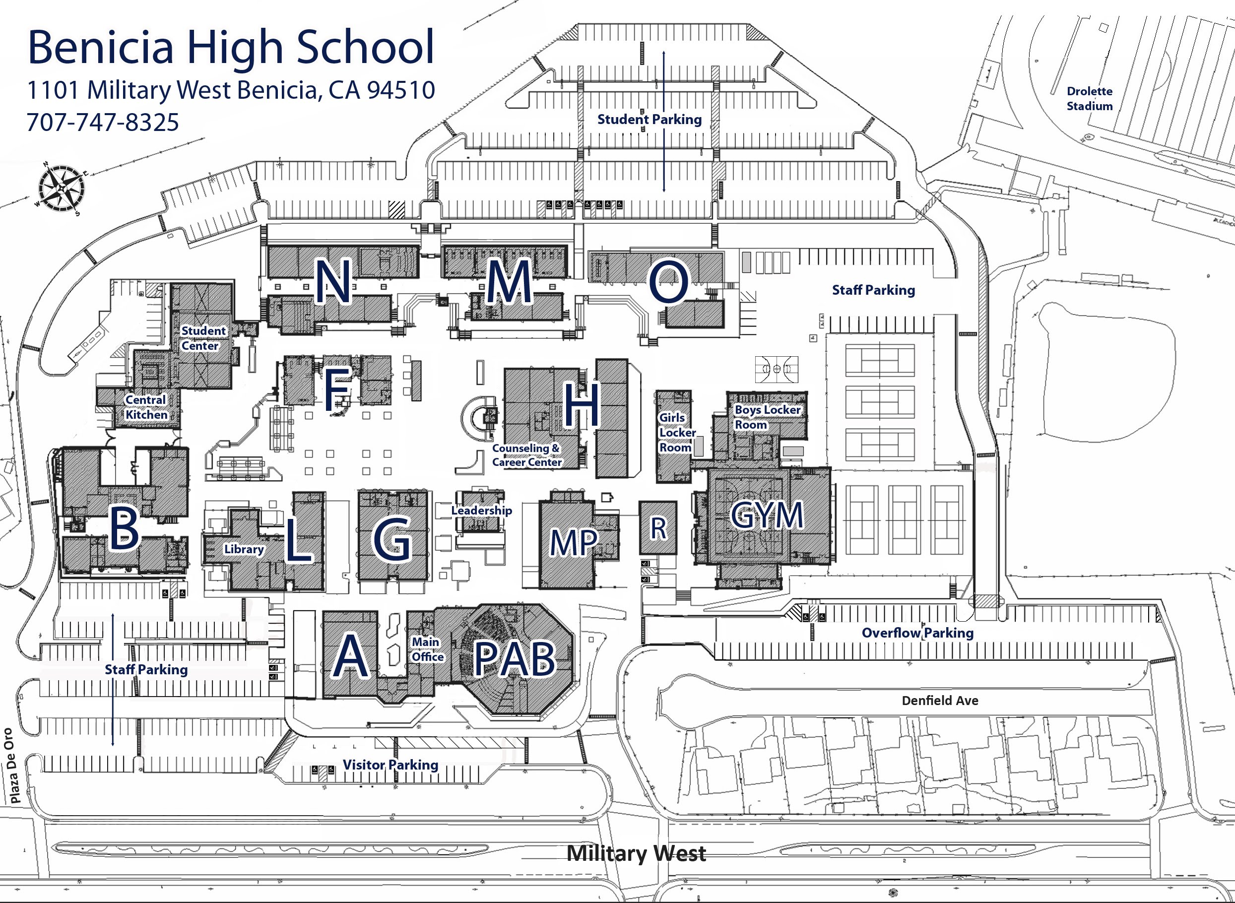 School Map Bhs